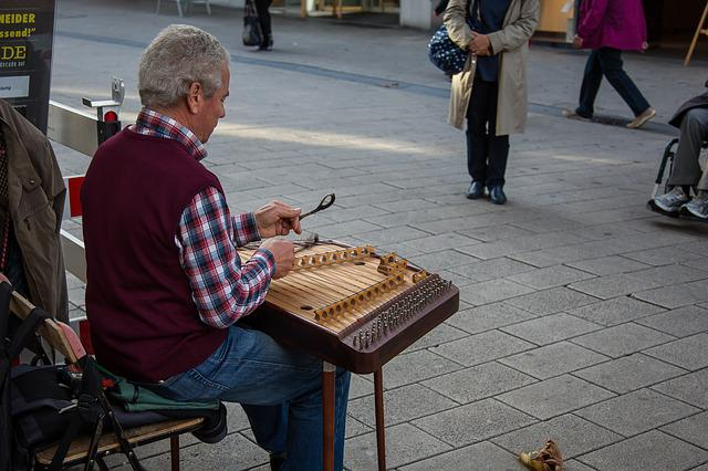 Cimbalom, Dulcimer, Stringed Instrument, Street Music