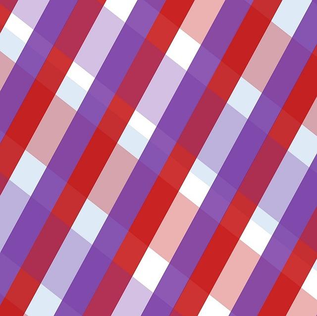 Gingham, Geometric, Purple, Burgundy, Stripes, Bands