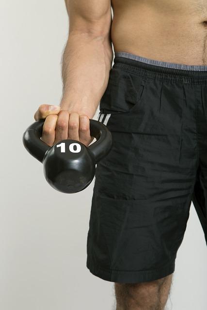 Kettlebell, Arm, Strong Arm