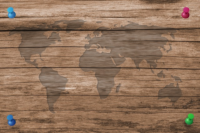Wood, Board, Structure, World, Map Of The World, Boards