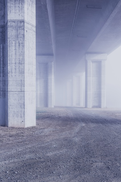 Bridge, Concrete, Pillar, Architecture, Structure