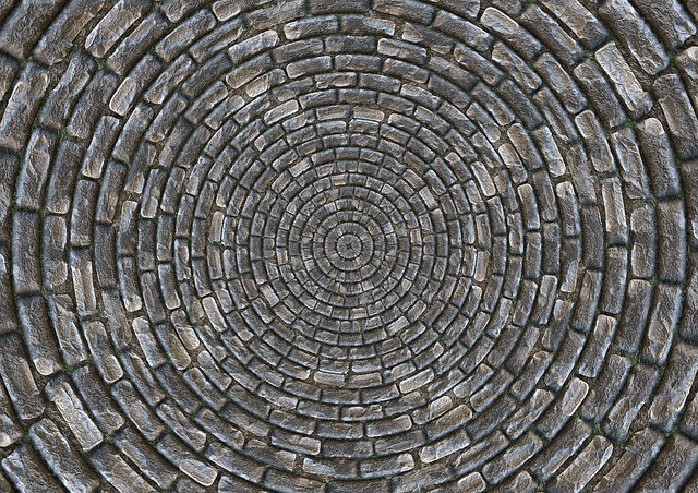 Stones, Patch, Circle, Arches, Pattern, Structure