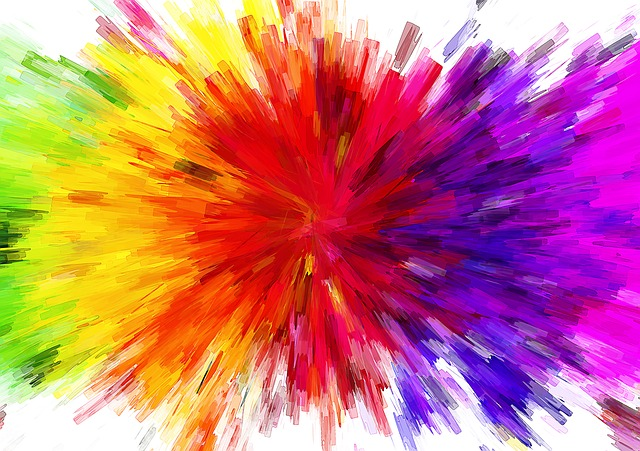 Color, Background, Structure, Lines, Explosion, Pop