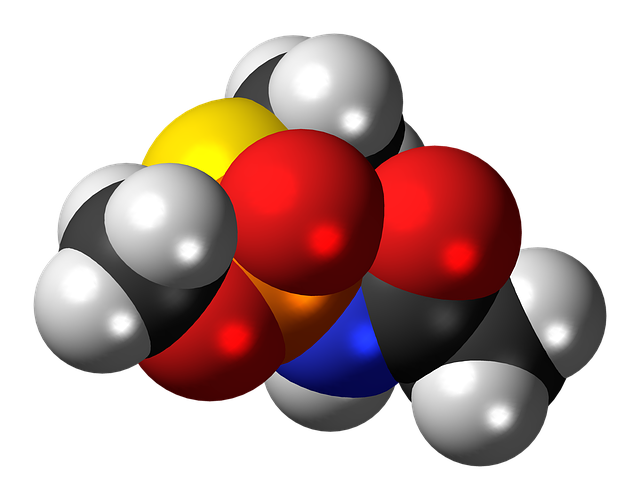 Acephate, Insecticide, Molecule, Structure, Model