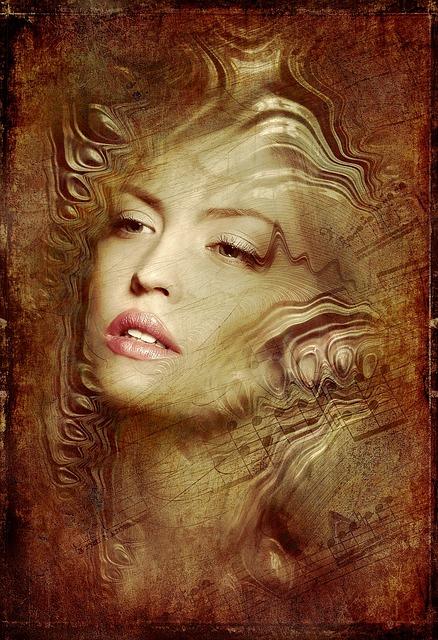 Portrait, Woman, Antique, Structure, Pretty, Face