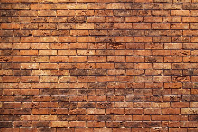 Brick Wall, Red, Structure, Masonry, Brick, Old, Stone