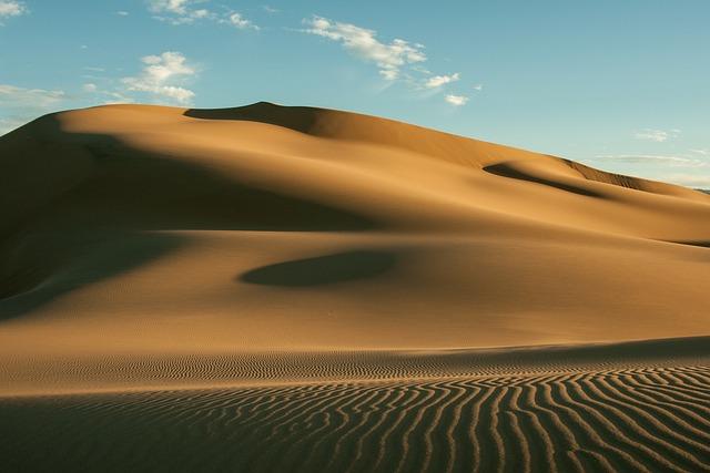 Gobi, Desert, Hot, Sand Dune, Mongolia, Structure