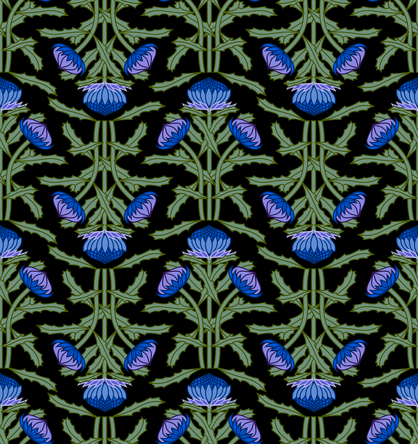 Pattern, Thistle, Structure, Texture, Wrapping Paper