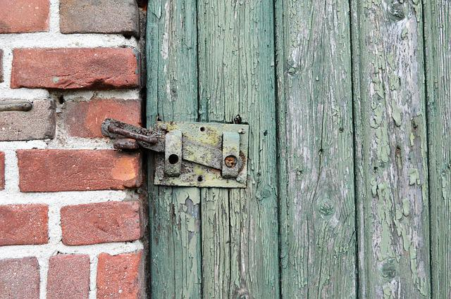 Wood, Old, Door, Wooden, Bolt, Facade, Wall, Structure