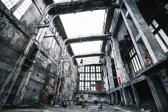 Abandoned, Building, Structure, Wreck