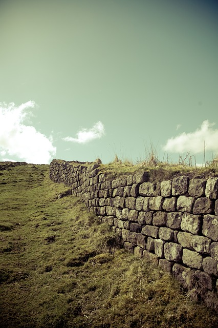 Hadrian Wall, Monument, Structures, Building, Wall, War