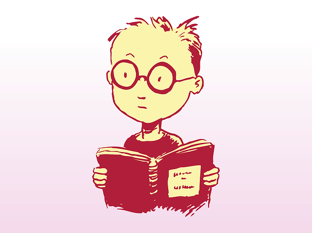 Study, Boy, Book, Glasses, Learning, Reading, Open Book