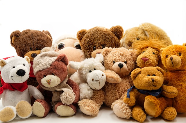 Soft Toys, Stuffed Animals, Teddy Bear, Soft Toy, Toys