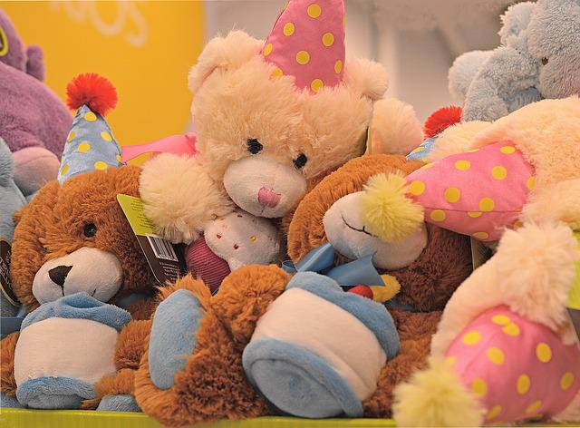 Stuffed Animals, Toys, Teddy, Bear, Plush, Cute