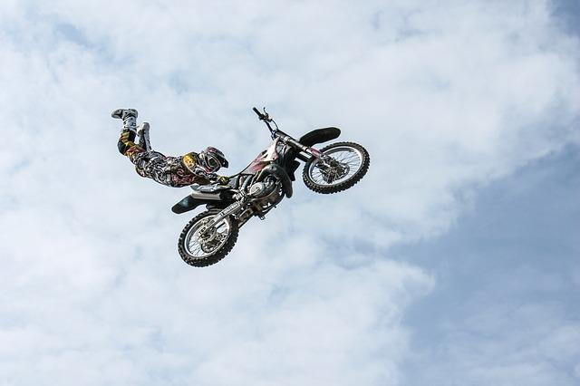 Biker, Motorcycle, Stunt, Man, Person, Stuntman
