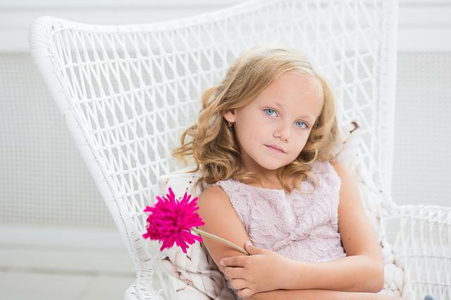 Girl, Young, Blue Eyes, Eyes, Look, Looking, Style