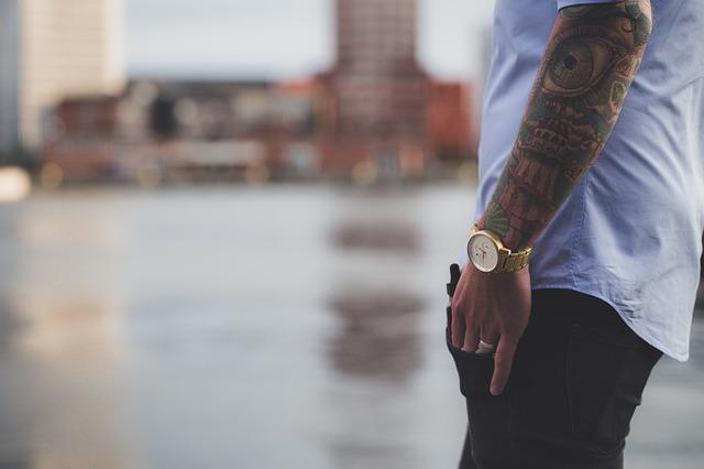 Fashion, Tattoos, Man, Male, Lifestyle, Style, Model