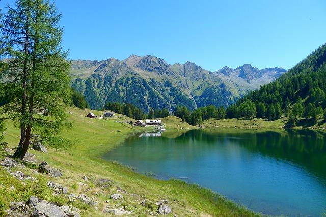Bergsee, Styria-austria, Nature, Landscape