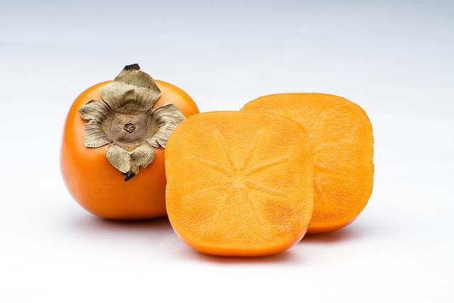Kaki, Fruit, Orange, Subject, Foodstuffs, Food, Macro