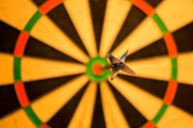 Bulls Eye, Bull, Darts, Game, Win, Success, Score