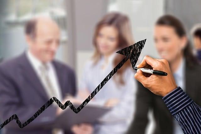Business, Businessmen, Success, Curve, Trend, Profit