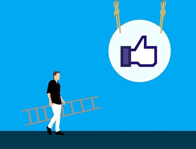 Social Media, Likes, Engagement, Reach, Ladder, Success