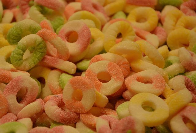 Candy, Colors, Confectionery, Sugar, Calorie, Gluttony