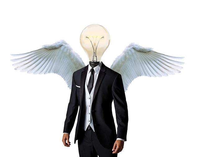 Business Angel, Mentor, Businessman, Suit, Business