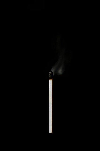 Match, Matches, Sticks, Lighter, Wood, Sulfur, Black