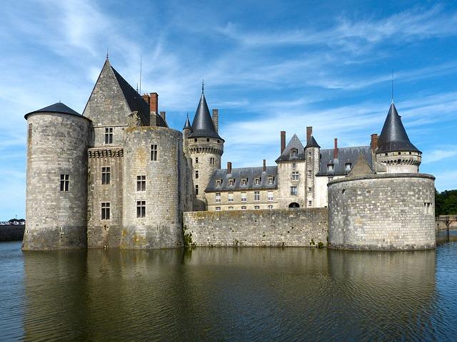 Castle, Sully, Loire, Building, Historically