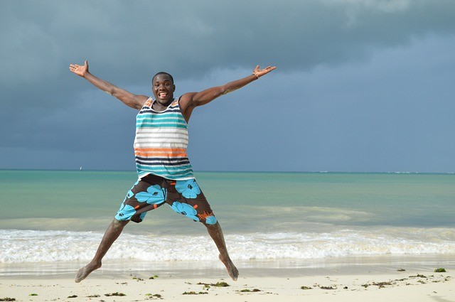 Beach, Kenya, Coast, Summer