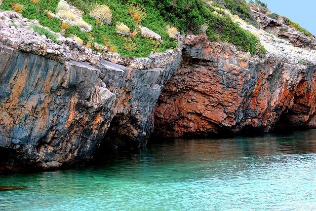 Sea, Rocks, Feria Colors, Summer, Color Turquoise, Blue