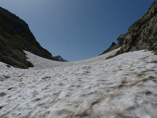 Pass, Snowfield, Snow, Cold, Summer, Cross, Mountains