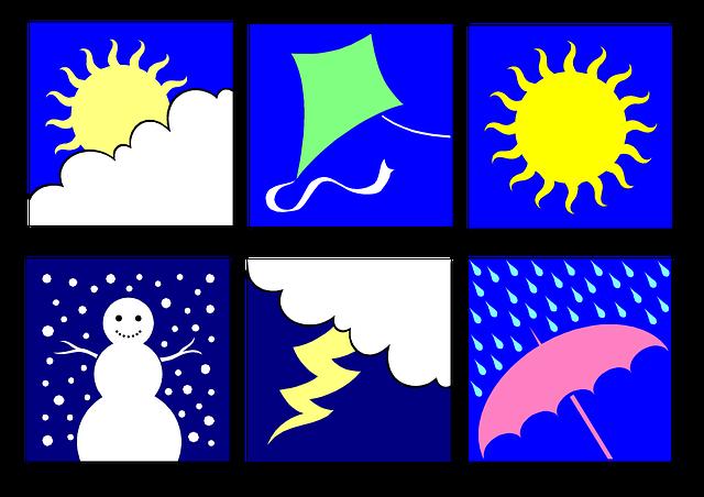 Clip Art, Weather, Seasons, Education, Summer, Winter