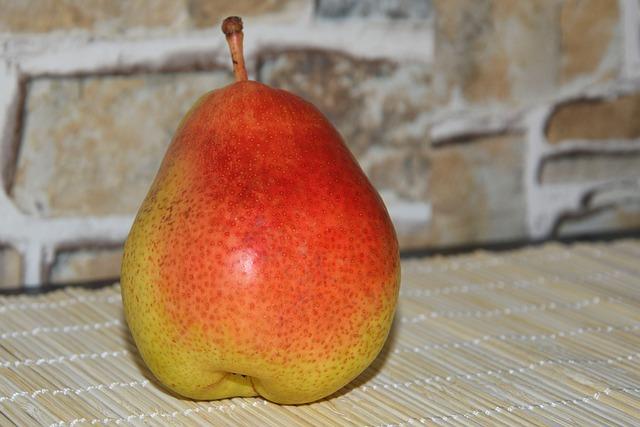 Pear, Fruit, Delicious, Healthy, Vitamins, Summer