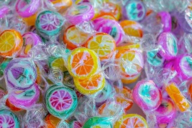 Candy, Motif, Fruits, Summer Fruits, Sweetness, Treat