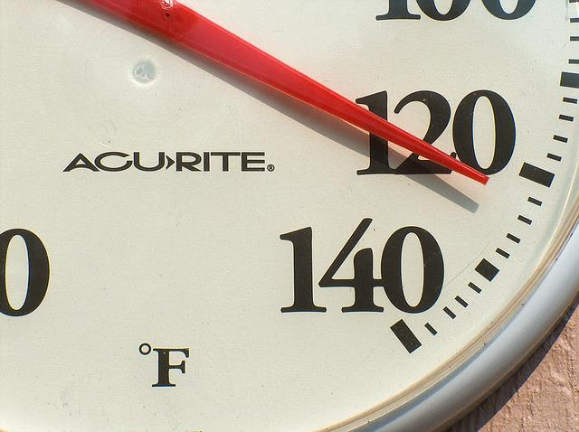 Weather, Temperature, Hot, Summer, 120, Gauge