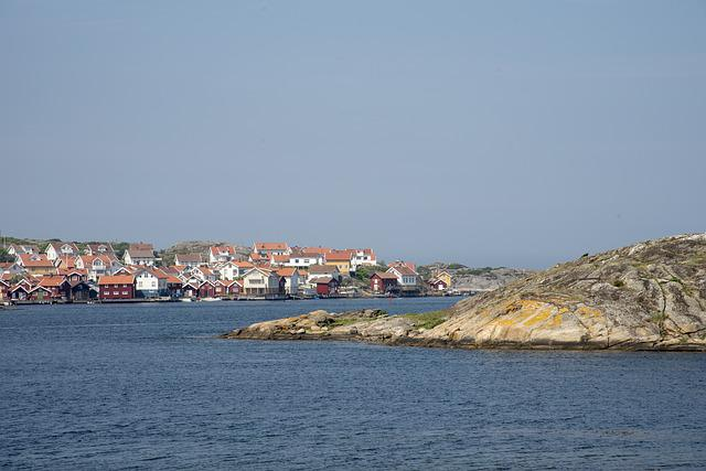 Gullholmen, Sea, Coastal, Sweden, Archipelago, Summer