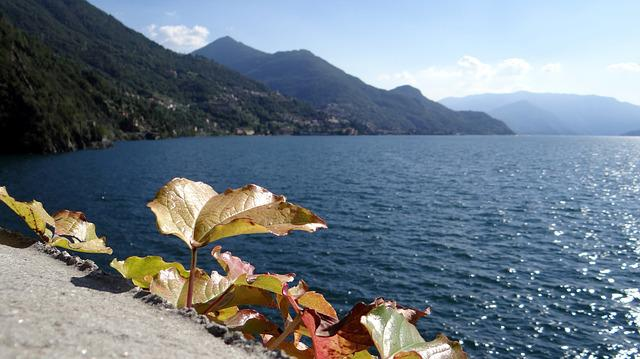 Italy, Lake, Mountain Lake, Summer, Beach, Vacation