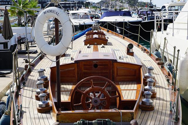 Boat, Ibiza, Port, Water, Luxury, Yacht, Summer, Old