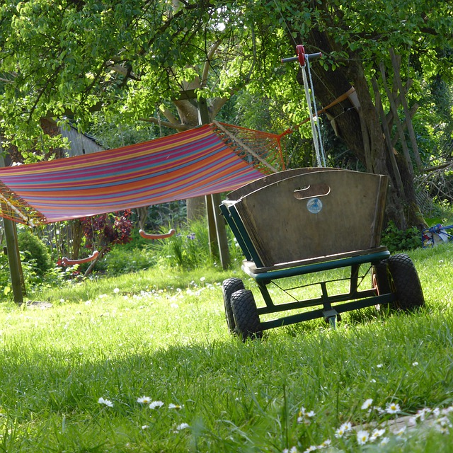 Stroller, May Hike, 1, May, Garden, Summer