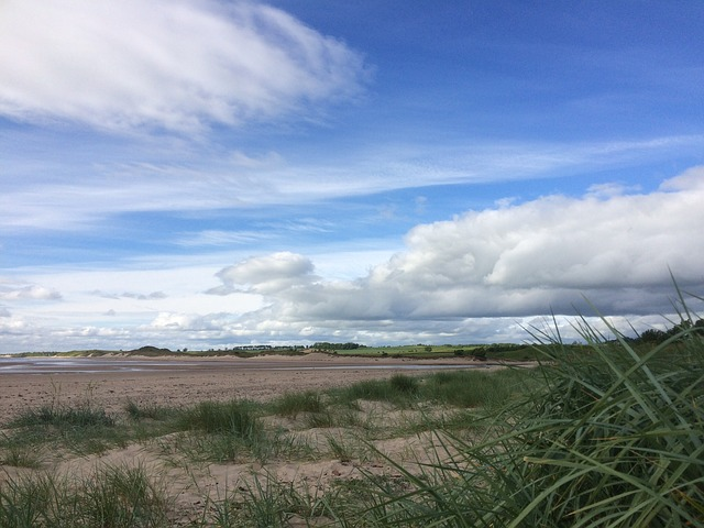 Alnmouth, Northumberland, Cloud, Summer, Holidays