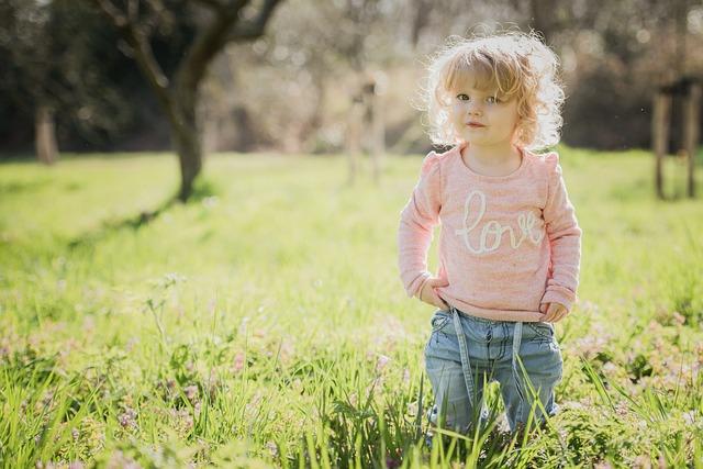 Child, Nature, Park, Grass, Toddler, Summer