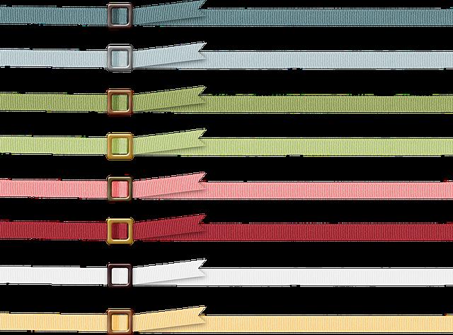 Borders, Frame, Ribbon, Ric Rack, Belt Buckle, Summer