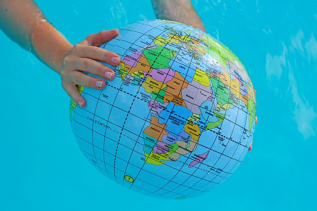 Globe, Summer Season, World, Travel, Tour, Water, Pool