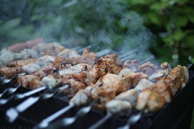 Shish Kebab, Summer, Meat, Mangal, On The Nature