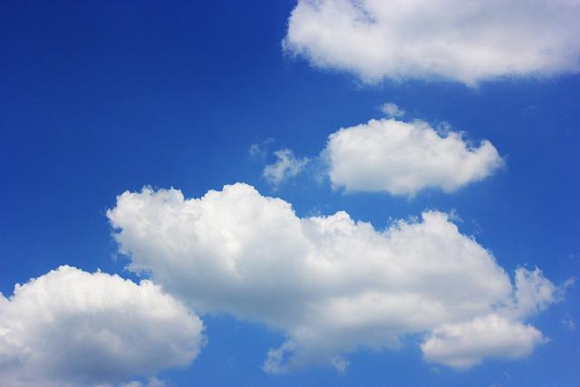 Sky, Cloud, Sunshine, Summer, Solar, Seoul