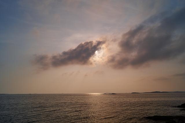 Archipelago, Water, Horizon, Sea, Sweden, Summer