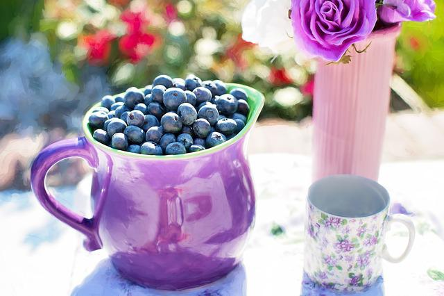 Blueberries, Summer, Fruit, Fresh, Healthy, Sweet