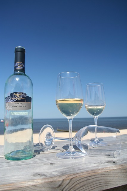 Sylt, Wine, Summer, Beach, Holiday, Wine Glass